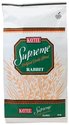Kaytee Supreme Rabbit Fortified Daily Blend, 50 lbs