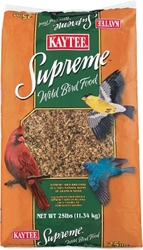 Kaytee Supreme Wild Bird Fortified Daily Blend, 25 lbs