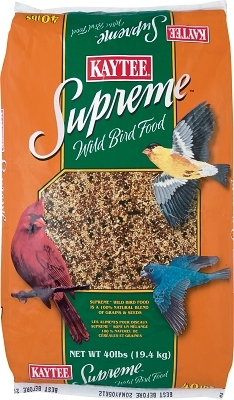 Kaytee Supreme Wild Bird Fortified Daily Blend, 40 lbs