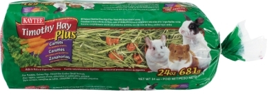 Kaytee Timothy Hay Plus Carrot, 24 oz