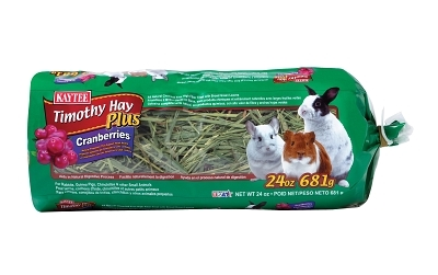 Kaytee Timothy Hay Plus Cranberries, 24 oz
