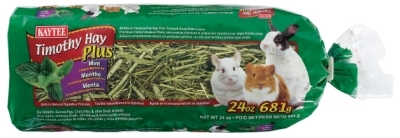 Kaytee Timothy Hay Plus Mint, 24 oz
