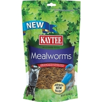 Kaytee Wild Bird Food, Mealworms, 7 oz