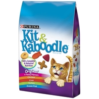 Kit & Kaboodle Cat Food, 3.5 lb - 6 Pack