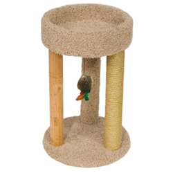 "Kitty Playtime Perch, 18"" x 18"" x 29.5"""