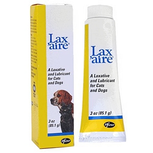 Lax'aire Laxative & Lubricant for Dogs and Cats, 3 oz