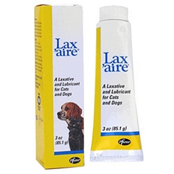 Lax%27aire Laxative & Lubricant for Dogs and Cats, 3 oz
