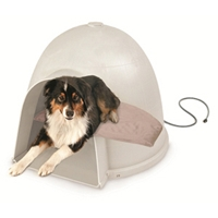 Lectro-Soft Igloo Style Heated Bed & Cover, Medium