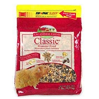 LM Animal Farms Square Meal Hamster & Gerbil Food, 50 lb