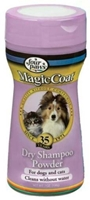 Magic Coat Dry Shampoo Powder for Dogs & Cats, 7 oz