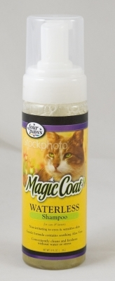 Magic Coat Waterless Shampoo for Cats & Kittens, 6 oz