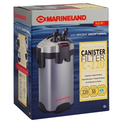 Marineland C-220 Canister Filter, 55 gal