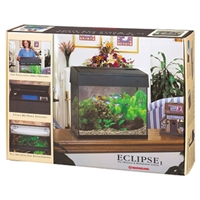 "Marineland Eclipse Filtration & Lighting System, 10"" x 20"""
