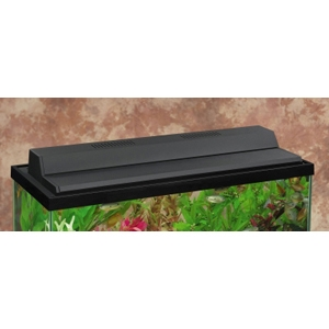 "Marineland Recessed Hood Black Finish, 30"" x 12"""