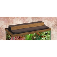 "Marineland Recessed Hood Oak Finish, 24"" x 12"""