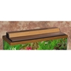 "Marineland Recessed Hood Oak Finish, 30"" x 12"""