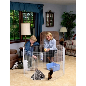 "Marshall Small Animal Play Pen, 29"" x 18"""