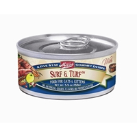 Merrick Cat Food Surf & Turf, 5.5 oz - 24 Pack