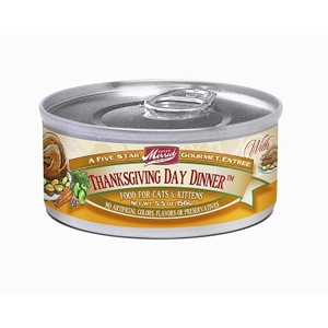 Merrick Cat Food Thanksgiving Day Dinner, 5.5 oz - 24 Pack