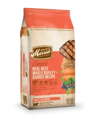 Merrick Classic Real Chicken with Brown Rice & Green Pea Dry Dog Food Recipe, 15 lbs