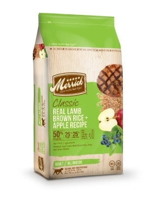 Merrick Classic Real Lamb with Brown Rice & Apple Dry Dog Food Recipe, 30 lbs