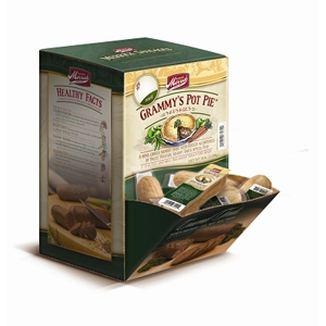 Merrick Dog Treats Grammy's Pot Pie Sausage, 34 ct