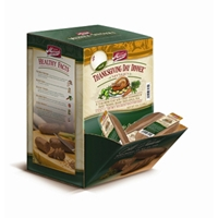 Merrick Dog Treats Thanksgiving Day Sausage, 34 ct