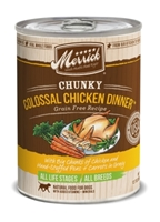 Merrick Grain-Free Chunky Colossal Chicken Dinner Canned Dog Food, 12.7 oz, 12 Pack