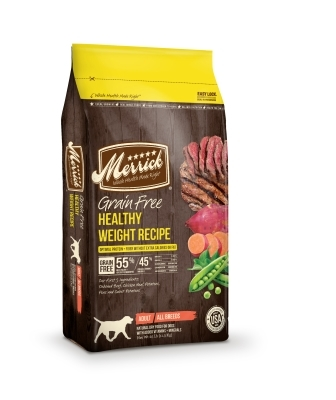 Merrick Grain-Free Healthy Weight Dry Dog Food Recipe, 25 lbs