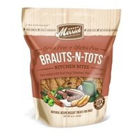 Merrick Grain-Free Kitchen Bites Brauts-N-Tots Dog Treats, 9 oz