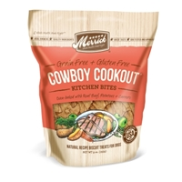Merrick Grain-Free Kitchen Bites Cowboy Cookout Dog Treats, 9 oz