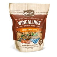 Merrick Grain-Free Kitchen Bites Wingalings Dog Treats, Hickory Smoke, 9 oz