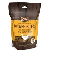 Merrick Grain-Free Power Bites Dog Treats, Chicken Recipe, 6 oz