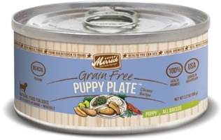 Merrick Grain-Free Puppy Plate Canned Dog Food, 3.2 oz, 24 Pack