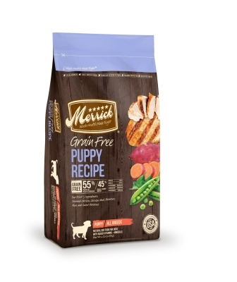 Merrick Grain-Free Puppy Recipe Dry Dog Food, 4 lbs
