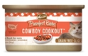 Merrick Grain-Free Purrfect Bistro Cowboy Cookout Canned Cat Food, 3 oz, 24 Pack