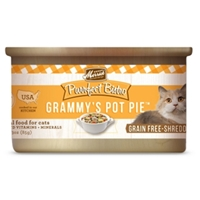 Merrick Grain-Free Purrfect Bistro Grammys Pot Pie Canned Cat Food, 3 oz, 24 Pack