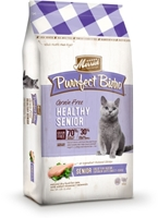 Merrick Grain-Free Purrfect Bistro Healthy Senior Dry Cat Food Recipe, 12 lbs