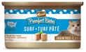 Merrick Grain-Free Purrfect Bistro Surf & Turf Pate Canned Cat Food, 3 oz, 24 Pack