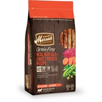 Merrick Grain Free Real Buffalo & Sweet Potato Dog Food, 4 lb - 6 Pack