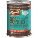 Merrick Grain Free Real Duck Canned Dog Food, 13.2 oz - 12 Pack