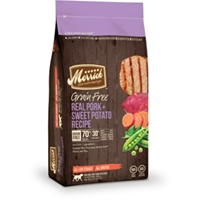 Merrick Grain Free Real Pork & Sweet Potato Dog Food, 4 lb - 6 Pack