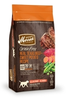 Merrick Grain-Free Real Texas Beef & Sweet Potato Dry Dog Food Recipe, 4 lbs