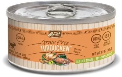 Merrick Grain-Free Turducken Small Breed Canned Dog Food, 3.2 oz, 24 Pack