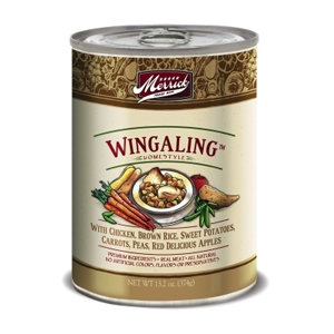 Merrick Grain Free Wingaling Canned Dog Food, 13.2 oz - 12 Pack