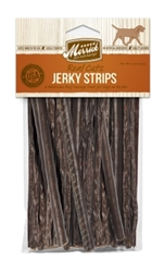 Merrick Real Cuts Natural Jerky Strips Dog Treats, Sausage, 4.25 oz