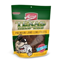 Merrick Texas Hold Ems Premium Lamb Lung Fillet Dog Treats, 8 oz