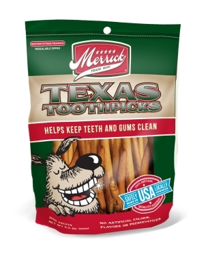Merrick Texas Toothpicks Dog Treats, 5.5 oz