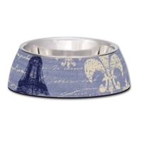 Milano Bowl- Large- Blue Linen