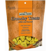 Natural Choice Crunchy Treats Carrot, 10 oz - 10 Pack